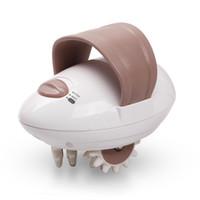 жировой массажный ролик оптовых-Benice 3D массажер для лица T607 ролик антицеллюлитный электрический массаж всего тела стройнее устройство сжигатель жира портативный для похудения спа-машина