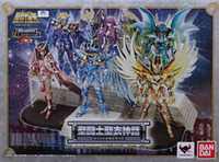 Wholesale Bandai Saint Seiya Myth Cloth - Bandai Saint Seiya Myth Cloth Pegasus cygnus shiryu shun Seiya God Cloth 10th Anniversary Display Stand Platform Action Figure