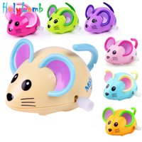 Wholesale Infant Baby Swing - 1Pcs Children Chain Toys Baby Cartoon Mouse Animal Baby Infant Wind Up Toys Clockwork Toys for Children Swing Kids