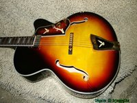 Alta calidad Honey Burst Classic Jazz Guitar ONE Pickup Wholesale Guitars de China
