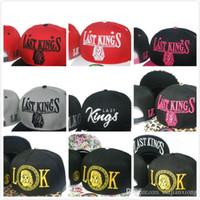 Wholesale Fast King - 2016 New Style Hat Baseball Hip Hop Snapback Sport Last Kings LK Cap Men Women Adjustable Cheap Free fast Shipping