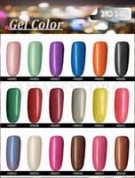 Wholesale texas nails online – design Hottest item Gelish Nail Polish Soak Off Nail Gel For Salon UV Gel Colors ml supply