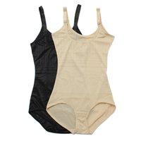Wholesale Underbust Corset Bodysuit - Wholesale-High Quality Sexy Women Bustiers Cincher Bodysuit Tummy Waist Girdle Belt Shapewear Body Control Underbust Corsets Shaper