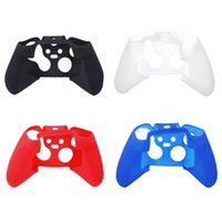 Wholesale Xbox One Console New - New Skin Soft Silicone Rubber Protective Skin Case Cover Joystick Grip Grips Protection for XBOX ONE Controller Console