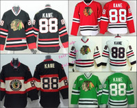 Wholesale Kids Black Ice Jersey - 2016 Chicago #88 Patrick Kane Cheap Youth Ice Hockey Jerseys Kids Boys Stitched Jersey Free Shipping Size S M L XL