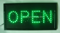 Wholesale Neon Open Sign Wholesale - 2016 wholesale business best selling custom open & closed neon signs indoor of open & closed led display