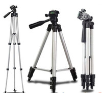 Wholesale Stands For Digital Cameras - Universal Digital Portable Aluminum Standing Tripod Mount for Camera Camcorder