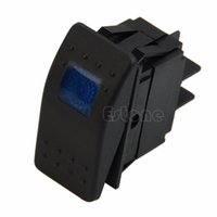 Freie Verschiffen 1pc New Blue 12V 20A Auto LED-Licht ON-OFF Leuchtwippschalter Waterproof Boot um $ 18NO Track