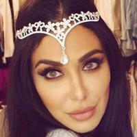 Wholesale Rhinestone Reel - Hot 2016 Glamorous Shinning Bridal Hair Accessories Wedding Hair Tiaras Reel Sample High Quality Crystal Sparkling Hair Headdress