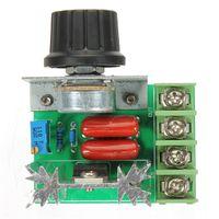 Wholesale Pwm Motor Speed Regulator - 2000W 50-220V Adjustable Voltage Regulator PWM AC Motor Speed Control Controller Wholesale Free SHipping
