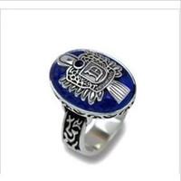 Wholesale Damon Vampire - PR-027 Occident Fashion Jewelry Popular The Vampire Diaries Damon Vintage Stone Ring