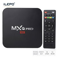 2G8G MXQ Pro Android TV Boîte RK3229 Rockchip Android6.0 Smart TV Box Entièrement Chargé RKMC 17.4 Streaming Media Player