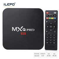 Wholesale tv box android 4k - android tv box MXQ Pro K TV Box s905w android smart ott tv set top box vs X96 mini