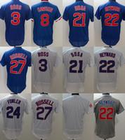 2776e185b Cheap Baseball 3 Ross 8 Dawson 21 Sosa 22 Heyward Best Unisex Short Chicago  Cubs