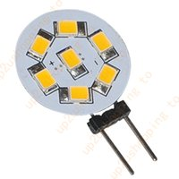 Wholesale Car Spotlights Prices - 50pcs Super Bright G4 LED 7 SMD 2835 Car Warm White Cabinet RV Light Bulb Lamp for good price free shipping