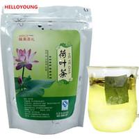 ingrosso erbe cinesi-20g C-TS002 foglia di erbe cinese allentato foglia di loto sfuso tè tradizionale tè dimagrante tisana diminuire per perdere peso bruciare grasso