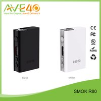 100% autentico originale Smok R80 80W TC / VV / VW OLED Box Mod VS Laisimo L1 200W TC Bluetooth 4.0 Box Mod
