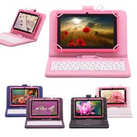 "Wholesale Allwinner Tablet Covers Keyboard - US Stock! iRulu Q88 7 inch Tablet PC Android Tablet PC 8GB A33 Quad Core 8GB 7"" Tablet PCs 7"" USB Keyboard Case"