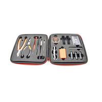 Wholesale vape rebuilt tools kit resale online - Newest Vapor Master Tool Kit Rda Tools Rebuild Kits Ohm Meter Kuro Koiler v3 Coil Jig Kbag for Vape Mods RBA Atomizer Coils