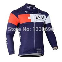 1203f50ae Full Anti UV Men IAM 2015 men cycling Jersey sets in winter autumn fall  with long