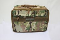 2014 nuovo esercito verde pesca Reel Bag Fishing Tackle Bag impermeabile multifunzionale