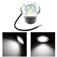 Wholesale Led Floor Tracking - 10W COB LED Underground Light Lamps Outdoor Buried Recessed Floor Lamp Waterproof IP67 Landscape Stair Lighting 85-265V AC order<$18no track