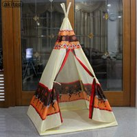 Nuovo arrivo Kids Teepee Tenda Indian tower house Game house Ocean ball pool Giochi per bambini Toy Tents baby game room tenda