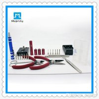 Wholesale coil master tool kit for sale - Group buy Majesty supplier Coil Master Tool Kit V2 DIY Kit New Coil Master Tool Kit For RDA RBA Atomizer
