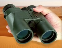 Hunting sports objectives - USCAMEL HD x42 Binoculars Powerful Handheld Telescope Waterproof Vision Objective Lens Army Green for Hunting Sport