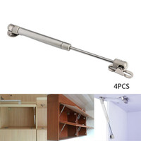 Wholesale Hinge Furniture Hardware - 4PCS 100N 10KG Hydraulic Hinges Door Lift Support for Kitchen Cabinet Pneumatic Gas Spring and Wood Furniture Hardware