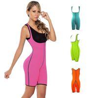Wholesale Training Suits For Women - Lingerie Workout Exercise Neoprene Nylon Slimming Suit Waist Training Corset Magic Underwear Waist Cinchers for Women N002