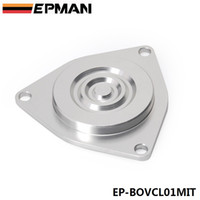 Wholesale Exhaust Plate - EPMAN - High Quality Auto Turbo Bypass Valve Blanking Plate For Mitsubishi CBV Block Off Plate EP-BOVCL01MIT