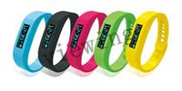 Wholesale Pink Blood Pressure - Bluetooth Smart Wristband Healthy Bracelets Pedometer Monitoring Sleep Fitness Bluetooth 4.0 EDR Smart Watch SH01 DHL Freeshipping