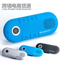 Wholesale Handsfree Intercom - 2016 It Is 5 (v) Car Handsfree New Arrival Limited Abs 100 (cm) Speaker It Is Bluetooth Kit Hands-free One with Two Visor Intercom System