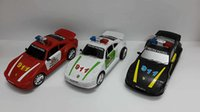 Wholesale Cool Toy Police Cars - Creative Model Cars for Kids Police Man Car Boys and Girls Cool Toy Patrol Wagon Red Black White 911 Inertia Car