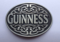 Wholesale Wholesale Guinness - Guinness Belt Buckle SW-BY02 suitable for 4cm wideth belt with continous stock