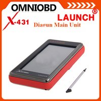 suppliers-suppliers Canada - Free Shipping 2016 High Quality Multi-language Launch X431 Diagun Main Unit With Battery With Software with card