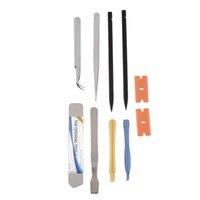 Wholesale Wholesale Hacksaw Blades - Hot Worldwide 10Pcs Repair Opening Pry Tool Set Spudger Tweezer Blade Kit for iPhone New