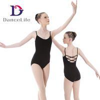 Wholesale Ballet Wear Leotard - Free shipping Adult new strapy ballet leotard wholesale Dancewear supplier China discount ballet dance wear A2058