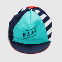 Wholesale cool top hats - Wholesale-2016 maap cool cycling hats Men or woman beautiful Bicycle Cap Road cycling hat Outdoors cotton bike cap top quality