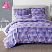 Wholesale Duvet Button - muchun Brand Bedding Sets 3 pcs Comforter Duvet Cover Pure Color 3D Button Home Textiles Drop Shipping Bed sets