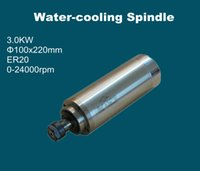 Wholesale AC V V Industry KW spindle motor water cooling spindle motor A AND iNVERTER