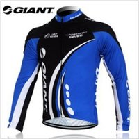 Wholesale Giant Jersey Only - Wholesale-portswear clothing Wear giant long sleeve cycling jersey cycling wear clothes bicycle bike only long jersey
