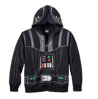 Wholesale Kids Black Hooded Sweater - New 3-10Yrs Chidren Star Wars Hoodies&Sweater Boys Cartoon Cosplay Cotton Coat&Jacket Kids Long Sleeve Cartoon Hoodies