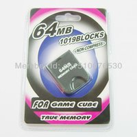 Wholesale 10pcs High quality FOR NGC MEMORY CARD For NGC MB memory card for gamecube Full Capacity High Speed