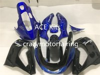 Wholesale 1996 Yamaha Fairing - 3Gift New ABS Fairing set 100% Fit For YAMAHA Thunderace YZF1000R 1996-2007 1996 2007 Black blue AQ