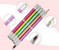 Wholesale Multifunctional Beauty Equipment - Two of the best quality multifunctional hand embroidered eyebrow tattooing pen metal floating eyebrow tattoo equipment beauty tools