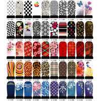 Wholesale Nail Art Water Decals Halloween - Nail Stickers All Nail art Water transfer printing sticker Free Shipping