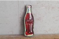 Wholesale Cola Drink Vintage Neon Sign Decorative painting LED metal signs bar Cafe Cerveja Shabby chic wall decoration signboard