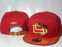 Wholesale D9 Reserve - 2016 strap back caps metal logo red snakeskin men women adjustable DNINE D9 Reserve snapback caps Many Quality Fashion street hats DD